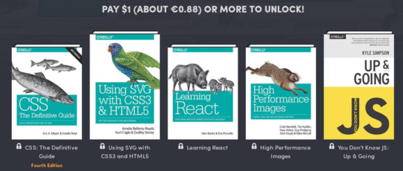 Humble Book Bundle: Web Programming by O'Reilly - das gibt es für 1 US-Dollar