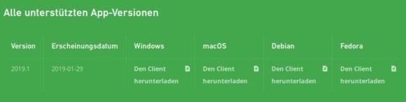 Mullvad bietet Clients für Linux, macOS und Windows