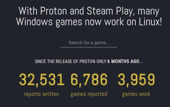 Fast 4000 Spiele laufen mit Proton