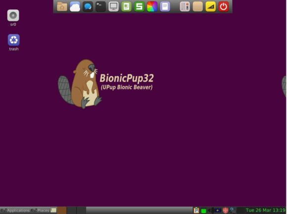 Puppy Linux BionicPup basiert auf Ubuntu 18.04
