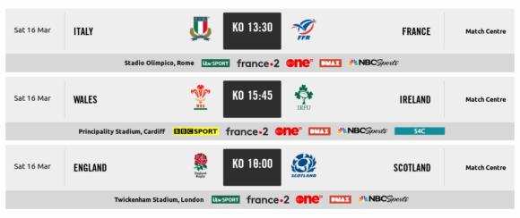 Rugby Six Nations live im Free TV angucken - das geht!