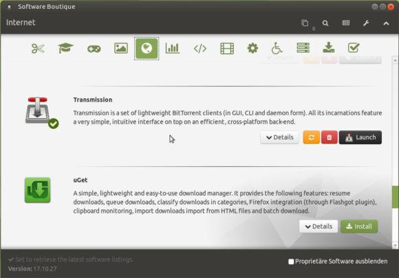 Mit der Software Boutique in Ubuntu MATE 18.04 für Raspberry Pi installierst Du weitere Programme