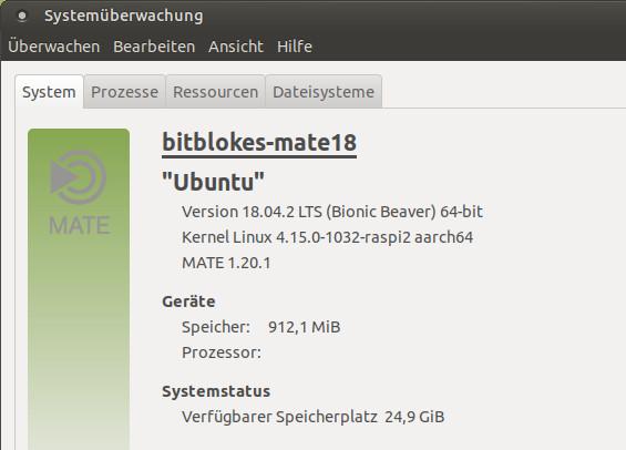 64-Bit-Version auf einem Raspberry Pi 3+