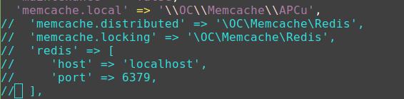 Redis wegen PHP 7.1 deaktiviert ...