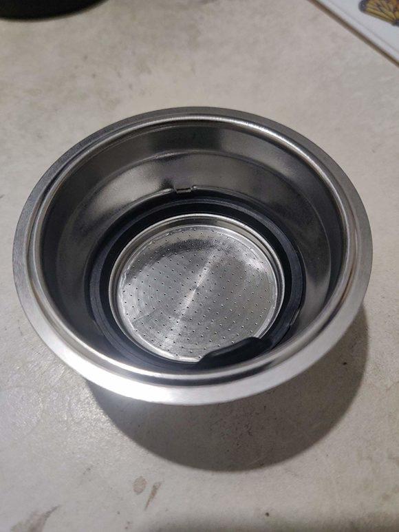 Espressomaschien-Filter mit herausnehmbaren Sieb (Quelle: amazon.de)