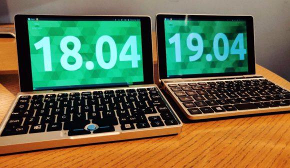 Ubuntu MATE 18.04 auf dem GDP Pocket und 19.04 auf dem GDP Pocket 2 (Quelle: ubuntu-mate.org)