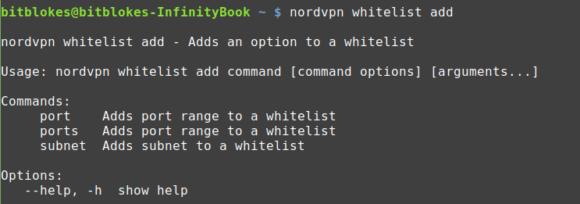 NordVPN: Whitelisting von Ports und Subnetzen möglich