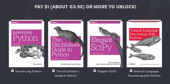 Python by O'Reilly: MIndestens 1 US-Dollar oder 0,9 Euro