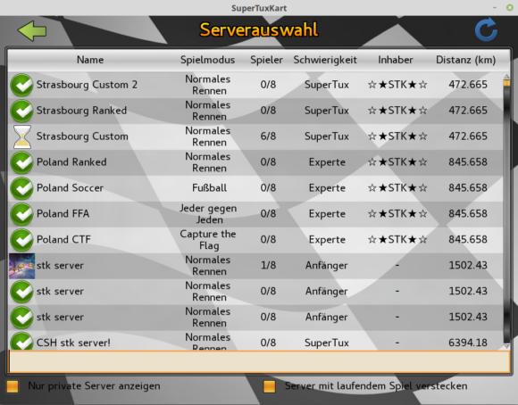 SuperTuxKart 1.0 mit mehreren Rennmodi