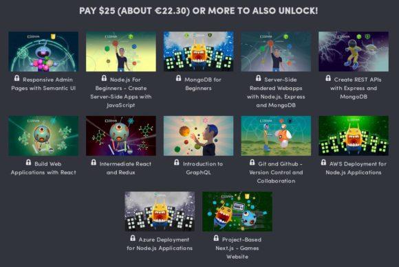 12 weitere Bücher für 22 Euro