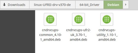 Drei Debian-Pakete