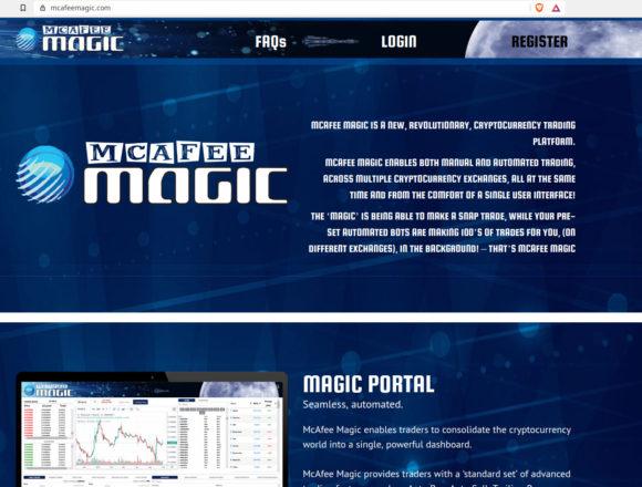 McAfee Magick ... Hmmmm