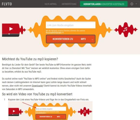 Videos auf YouTube schnell im MP3 konvertieren
