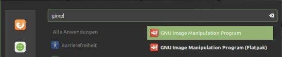 GIMP aus Repo oder Flatpak?