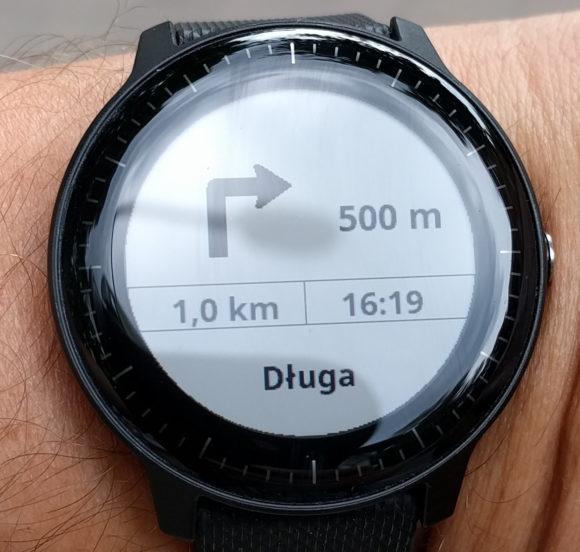 Die Navigation via Google Maps ist gestartet