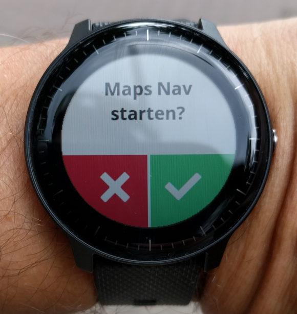 Maps Nav starten