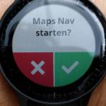 Navigieren mit der Garmin vívoactive 3 – unter anderem mit Google Maps