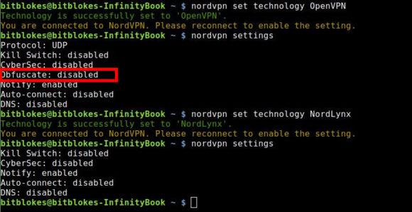 Obfuscate nicht vorhanden, CyberSec aber schon