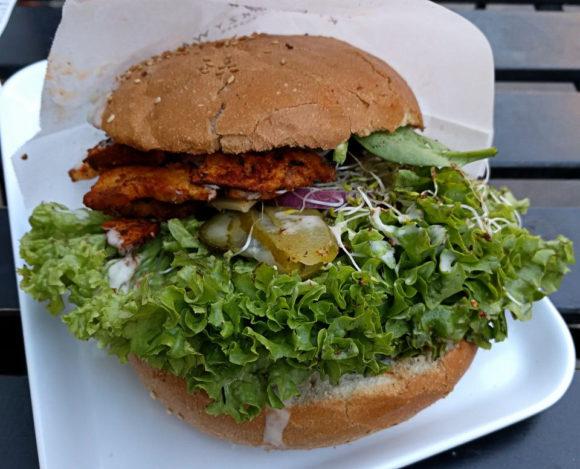 Veganer Burger: Echt lecker