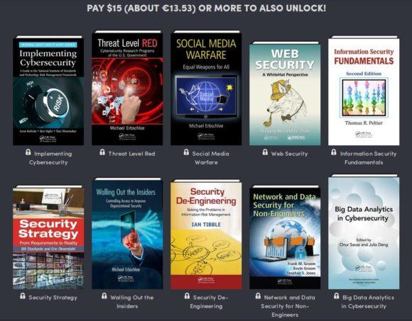 Für 15 US-Dollar gibt es 10 weitere Bücher