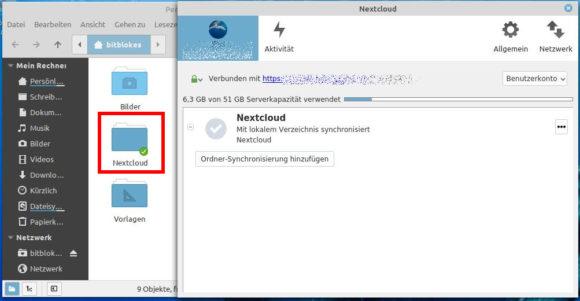 Nextcloud – alles synchronisiert