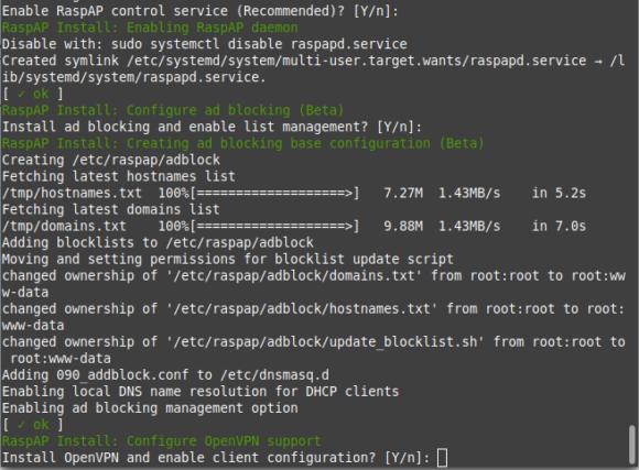 Adblocker und OpenVPN-Client installieren?