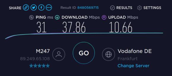 Geschwindigkeitsmessung mit OpenVPN – das reicht für den VPN-Router