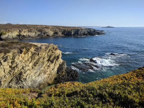 Schroffe Atlantik-Küste