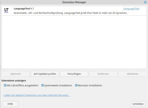 Ab sofort ist LanguageTool 4.7 verfügbar