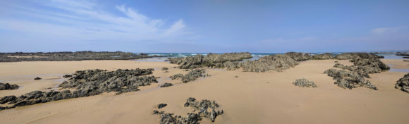 Atlantik und Strand