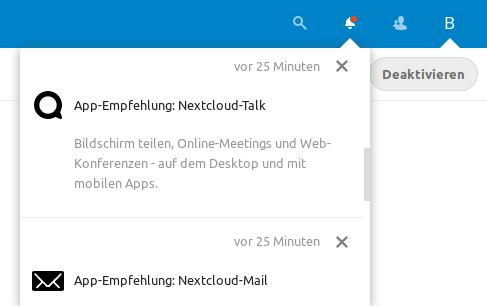Nextcloud 17 und App-Empfehlungen