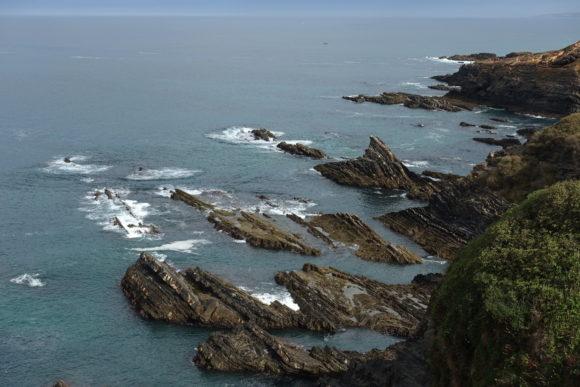 Die Küste am Atlantik hat einiges zu bieten