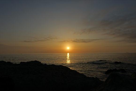 Sonnenuntergang in Porto Covo