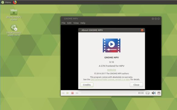 GNOME MPV ersetzt VLC in der Standard-Installation