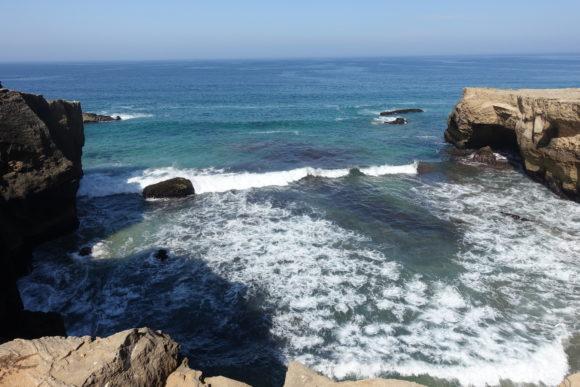 Wellen begleiten Dich auf dem Fisherman's Trail der Rota Vicentina