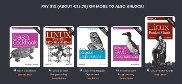 In der letzten Stufe des Humble Book Bundle: Linux & UNIX sind 5 Bücher