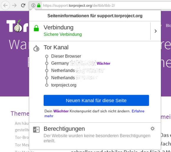 Bei Tor Browser 9.0 ist Tor besser integriert