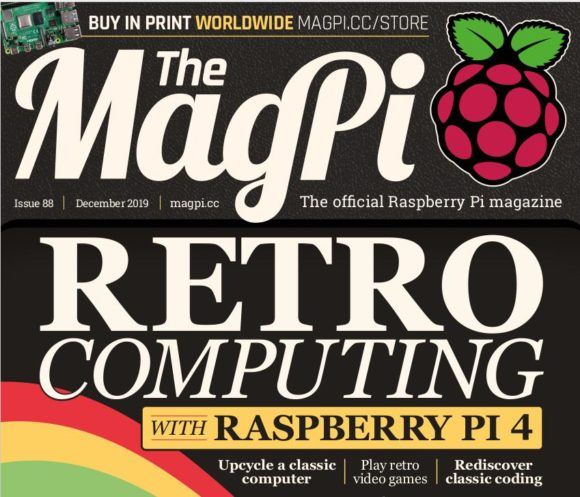 Beim MagPi 88 geht es um Retro Computing und Retro Gaming