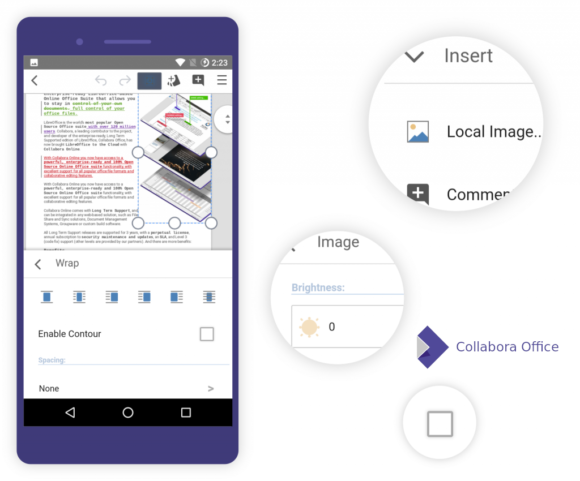 Collabora Online für Android – Beta (Quelle: collaboraoffice.com)