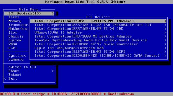 Hardware Detection Tool (Quelle: linuxmint.com)