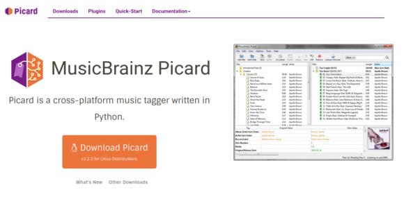 MusicBrainz Picard – auch für Linux