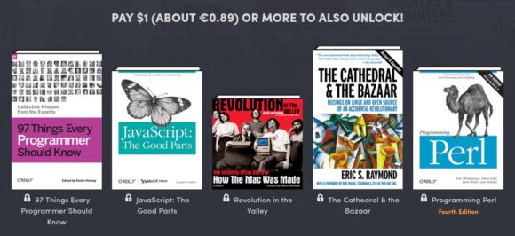 5 Bücher von O'Reilly für unter 1 Euro