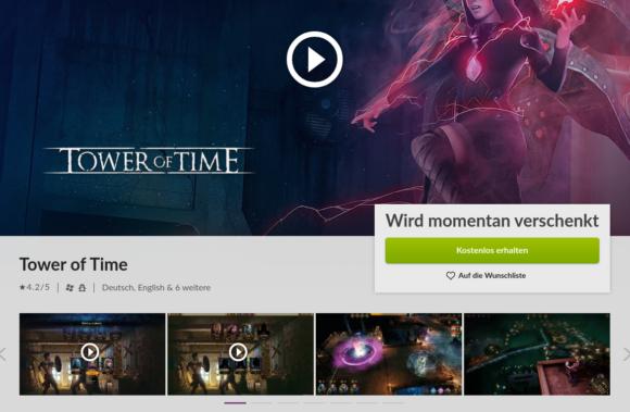 Tower of Time läuft nativ unter Linux – derzeit kostenlos!