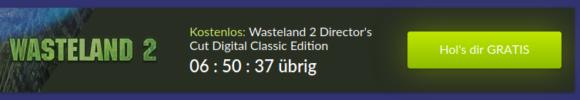 Noch wenige Stunden gratis – Wasteland 2!