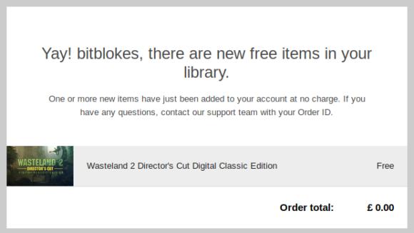 Wasteland 2 Director's Cut Classic Edition kostenlos erhalten!