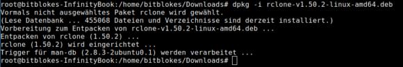 Version 1.50 kann WebDAV und lässt sich damit an die Nextcloud anbinden