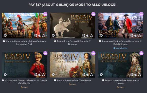 Weitere 6 DLCs für Europa Uiversalis IV