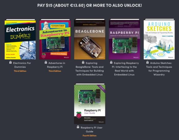 Noch 6 Bücher im DIY Electronics Bundle