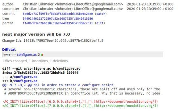 LibreOffice 7.0 ist die nächste große Version