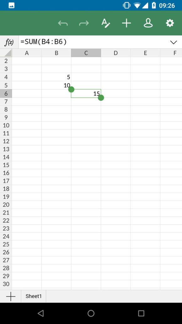 Tabelle – nutze ich nicht oft, deswegen ist mein Beispiel sehr rudimentär